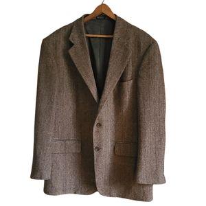 Oscar De La Renta Wool Tweed Blazer